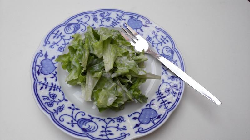 Jednoduchý letní salát