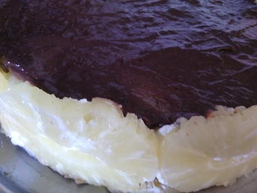 Jogurtový dort s ananasem bez pečení