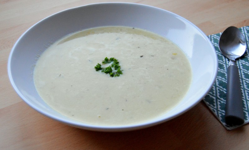 Kukuřičná polévka s brambory