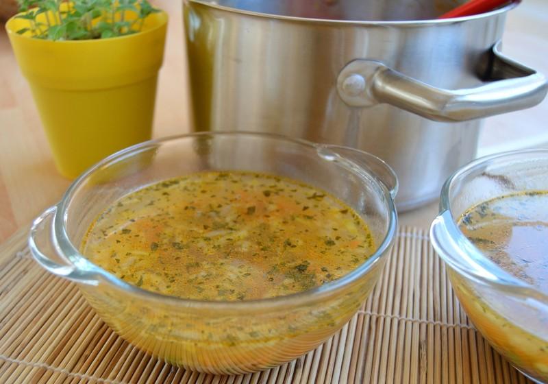 Strouhaná zeleninová polévka