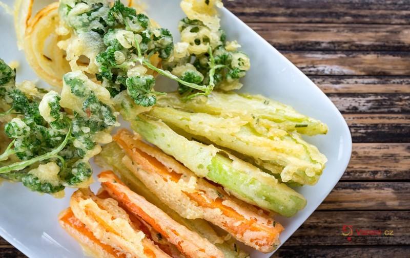 Zelenina v těstíčku