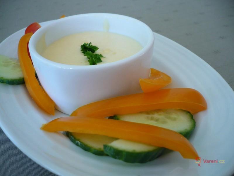 Domácí tvarohová majonéza