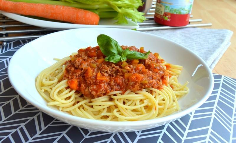 Maminčiny boloňské špagety