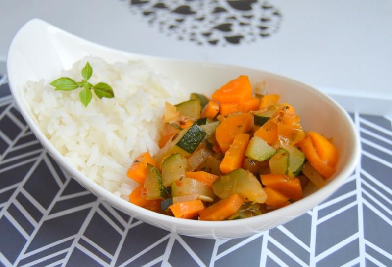 Zeleninová směs s mrkví a cuketou