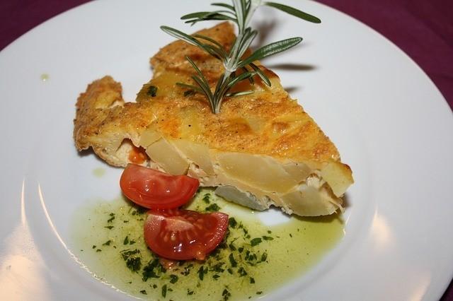 Španělská tortilla - bramborová omeleta