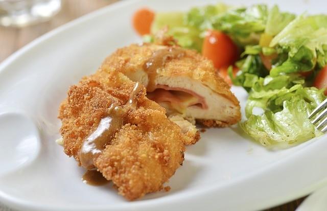 Cordon Bleu z kuřecího masa