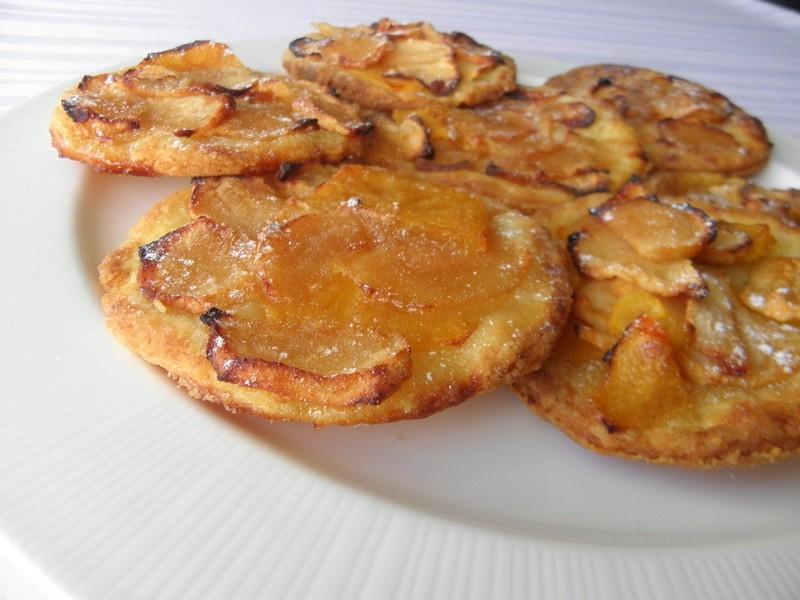 Jablečné koláčky s kaki