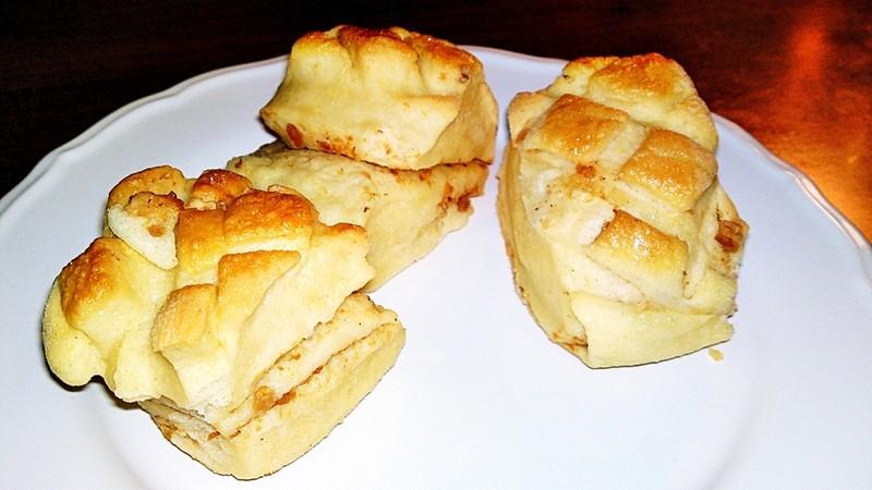 Škvarkovo-bramborové pagáče