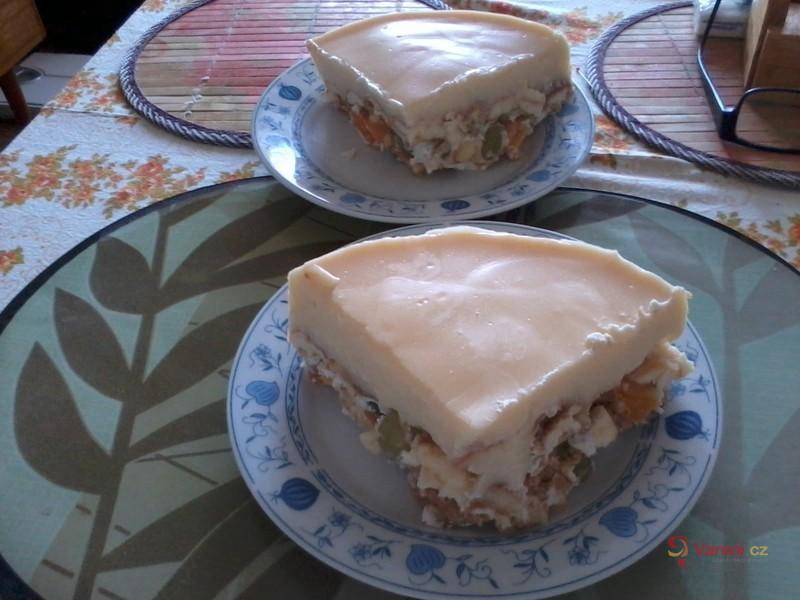 Ovocný studený dort