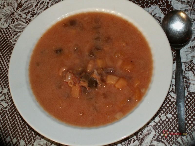 Fazolový boršč
