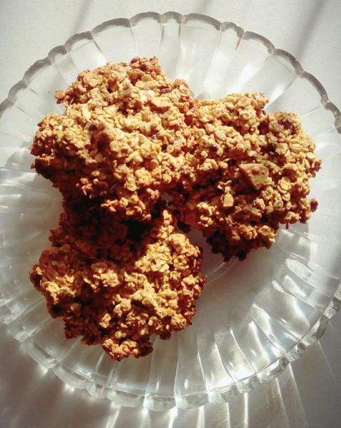 Fitness ovesné sušenky