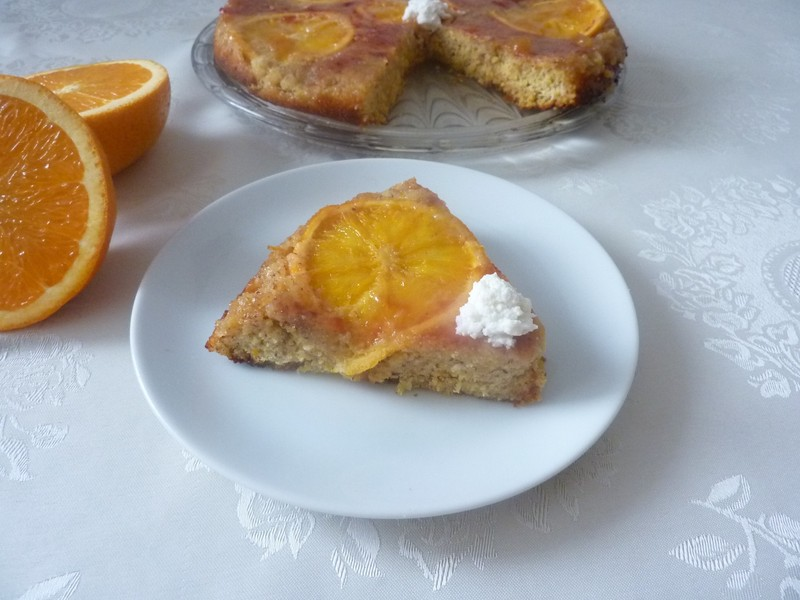 Pomerančový koláč s ricottou