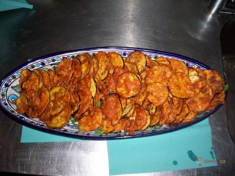 Batenžánové chipsy