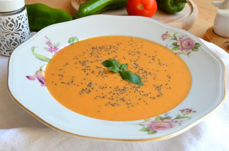 Rajčatovo-paprikový krém