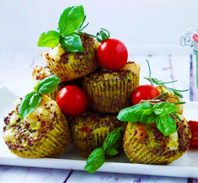 Cuketové muffiny s quinoou