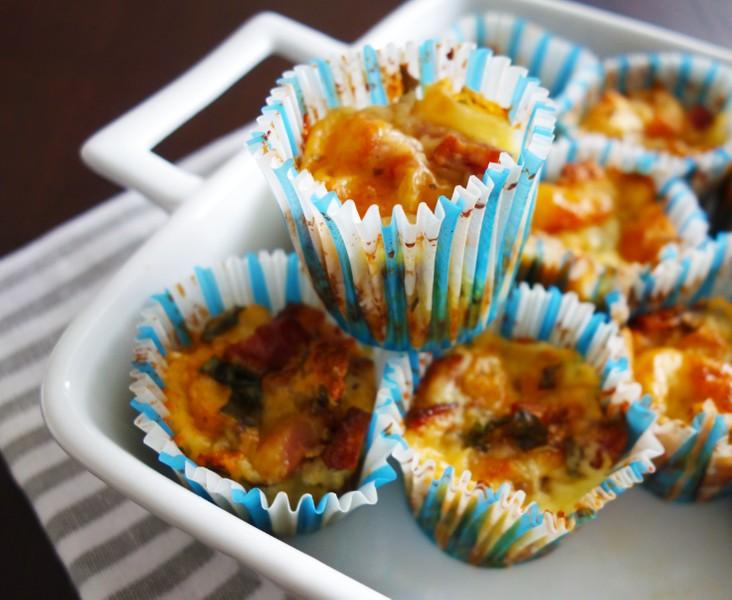 Výborné sýrové muffiny