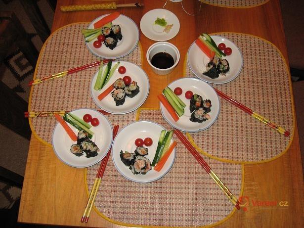 Sushi z českých rybníků