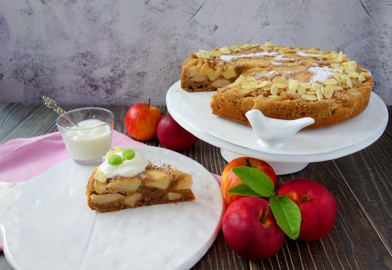 Nejrychlejší jablkový koláč