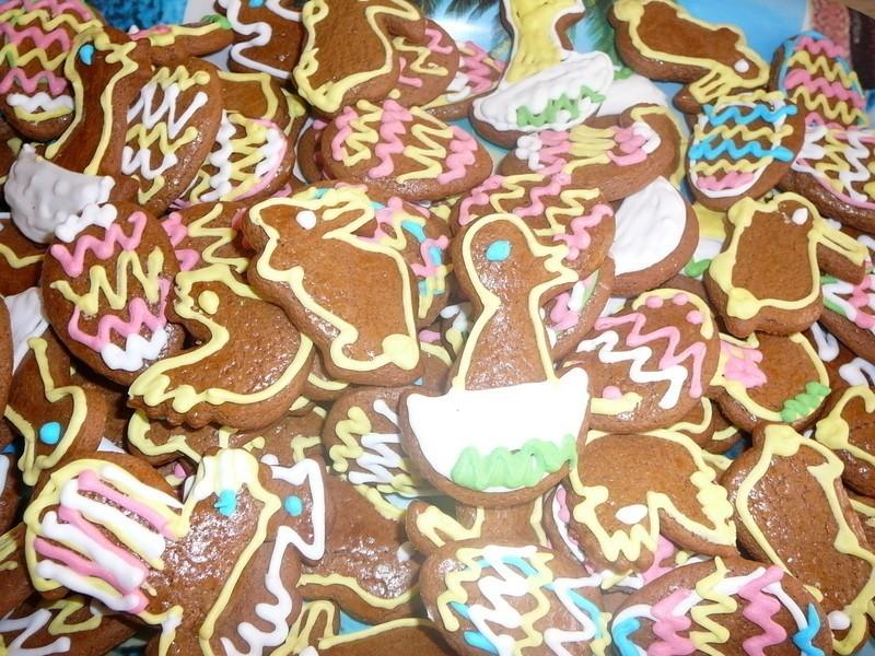 Soutěžní velikonoční perníčky