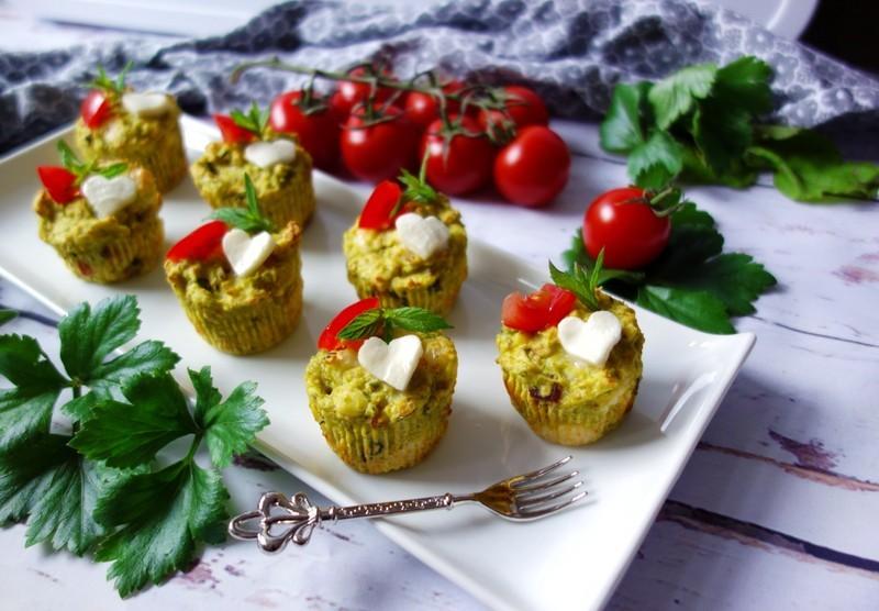Hráškové muffiny