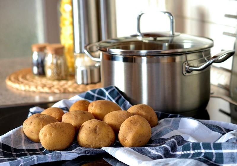 Zapékané bramborové plátky
