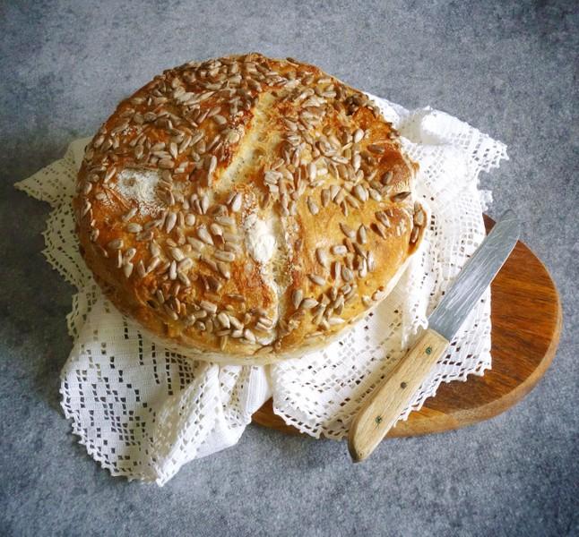 Nehnětený chléb