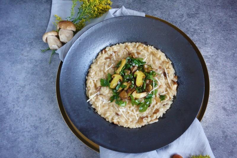 Italské hříbkové risotto