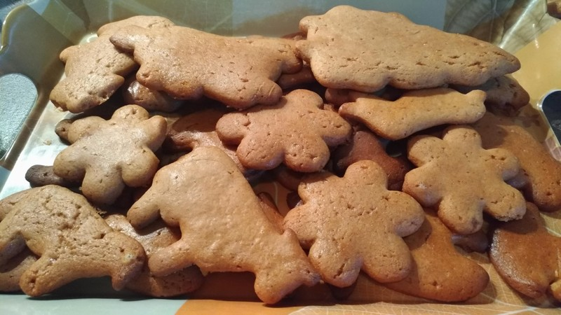 Vánoční hned měkké perníčky