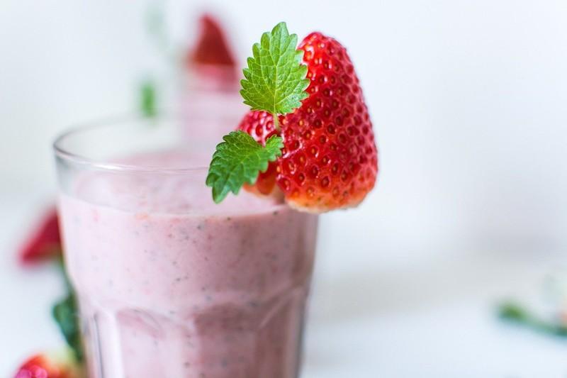 Zdravé ovocné smoothie