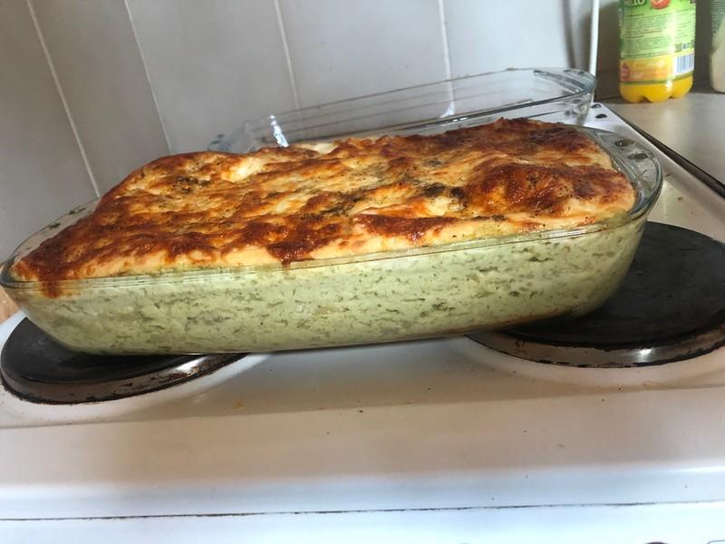 Brokolicovo-květákové lasagne
