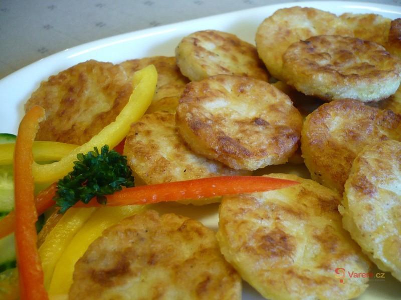 Smažená bramborová kolečka
