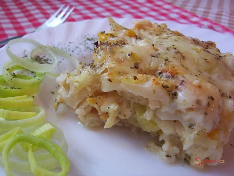 Zapékaná zelenina s mozzarellou