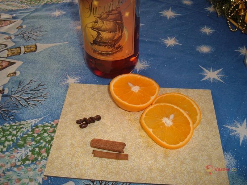 Grog s pomerančem