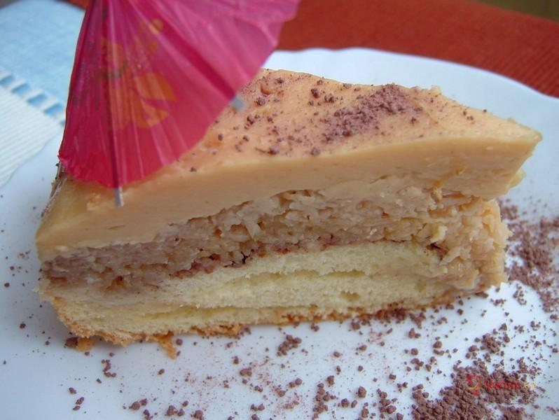 Jablkový koláč se salkem