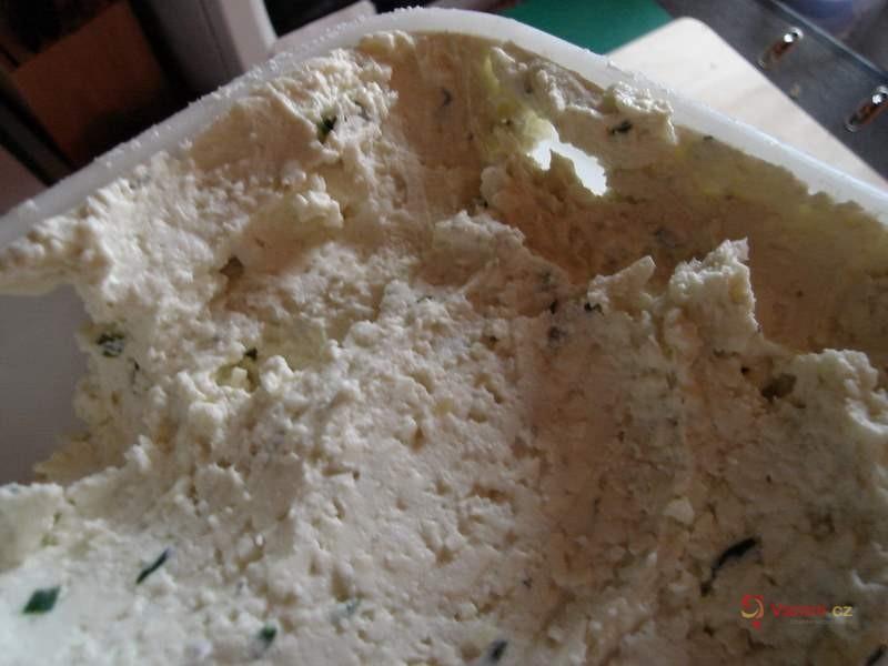 Sýrová pomazánka s bylinkami