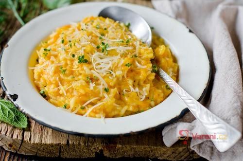 Dýňové rizoto se sýrem