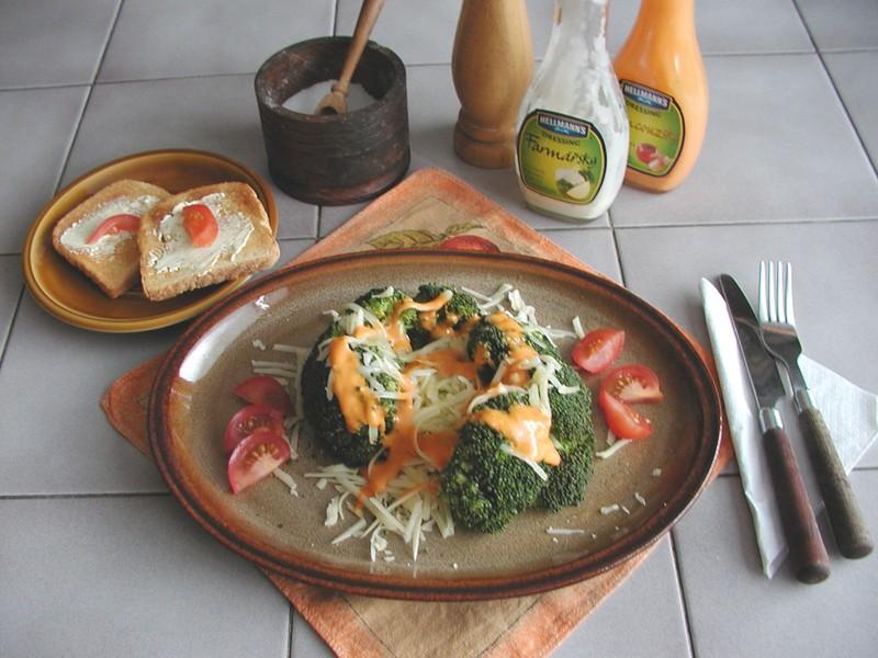 Brokolice se sýrem 1