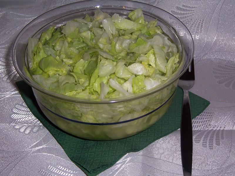 Ledový salát s citronem