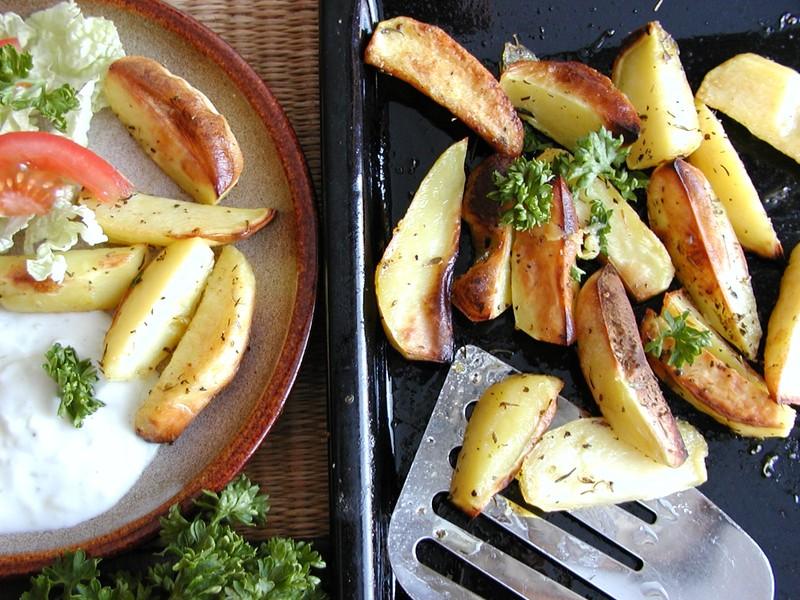 Pečené provensálské brambory