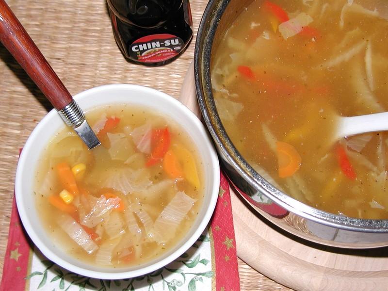Ostrá čínská polévka