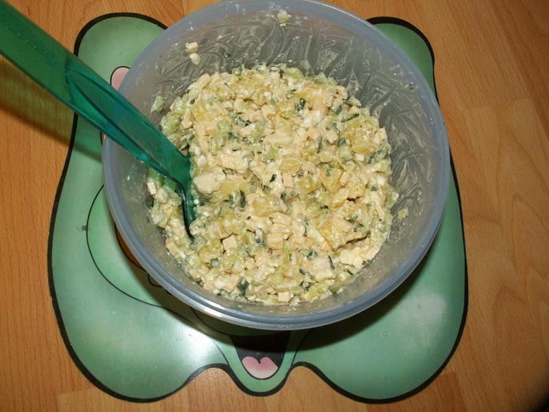 Sýrový salát 2