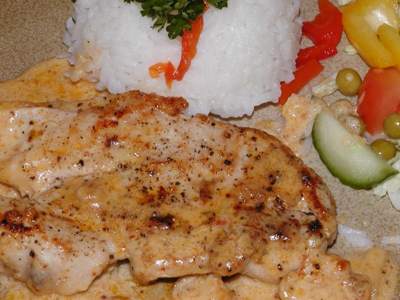 Argentinský kuřecí steak