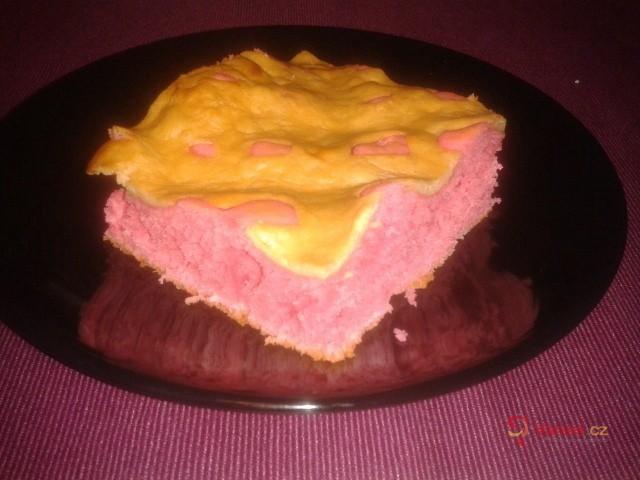 Lžícový tvarohový koláč