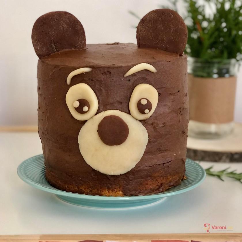 Čokoládový dort Méďa