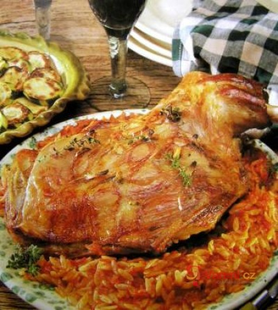 Kyperská jehněčí pečeně