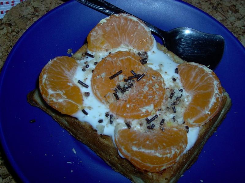 Mandarinkové vafle