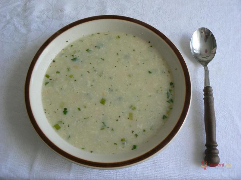 Smetanová polévka Pokr