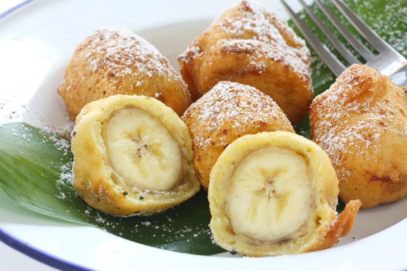 Banány v těstíčku
