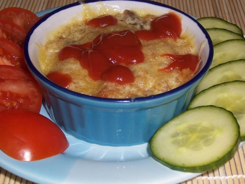 Vajíčková rýže z mikrovlnky
