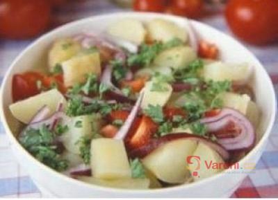 Letní zeleninový salát